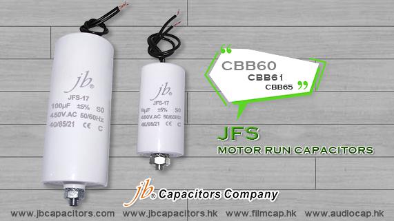 jb CBB-60, CBB61, CBB65 MOTOR RUN CAPACITORS