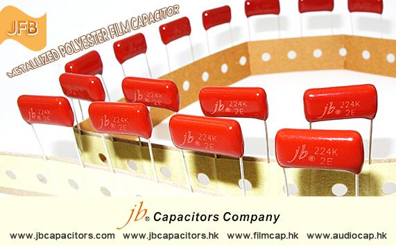 jb Capacitors Company Metallized Polyester Film Capacitor—JFB