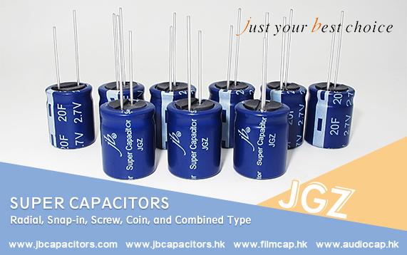 jb offer Super Capacitors- JGA JGM JGY JGZ